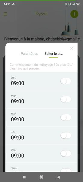 Application Kyvol Robovac E30 3