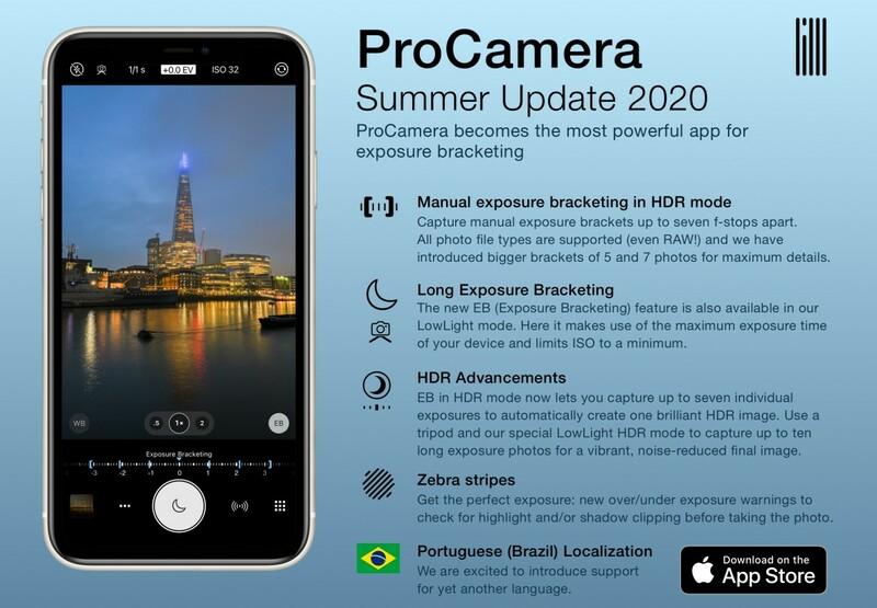 Application Procamera 13.6 Summer 2020