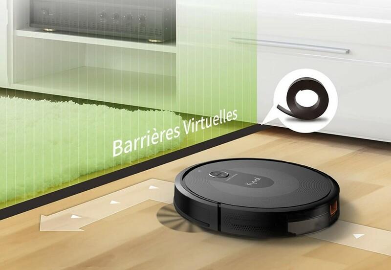 Barriere Virtuelle Robot Aspirateur Kyvol Robovac E30
