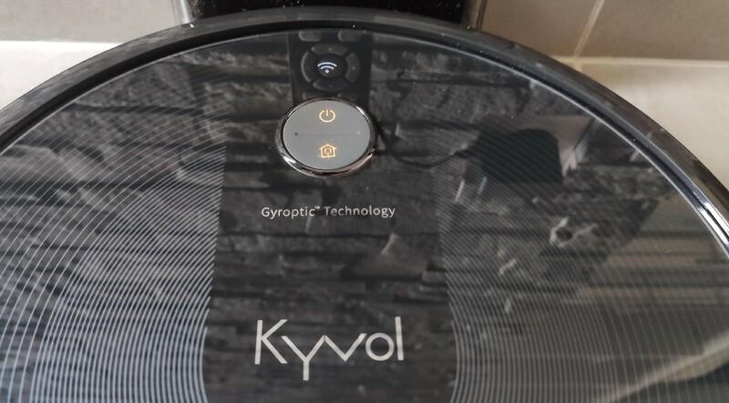 Bouton Robot Aspirateur Kyvol Robovac E30