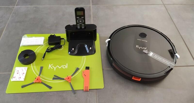 Deballage Robot Aspirateur Kyvol Robovac E30