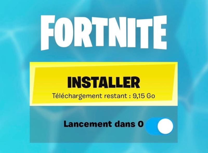 Re Installer Fortnite Sur Iphone Et Ipad