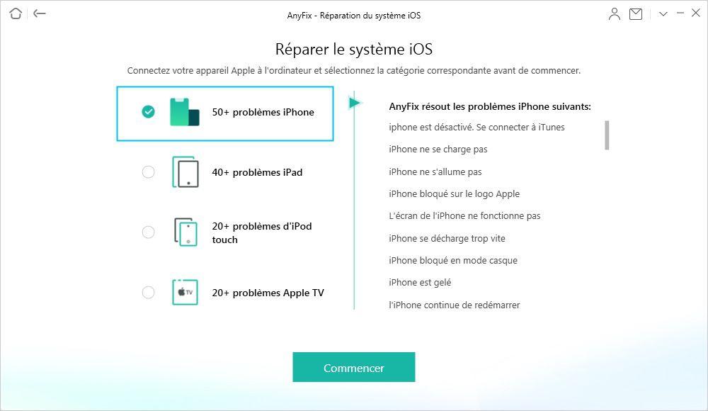 Reparer Systeme Ios Avec Anyfix