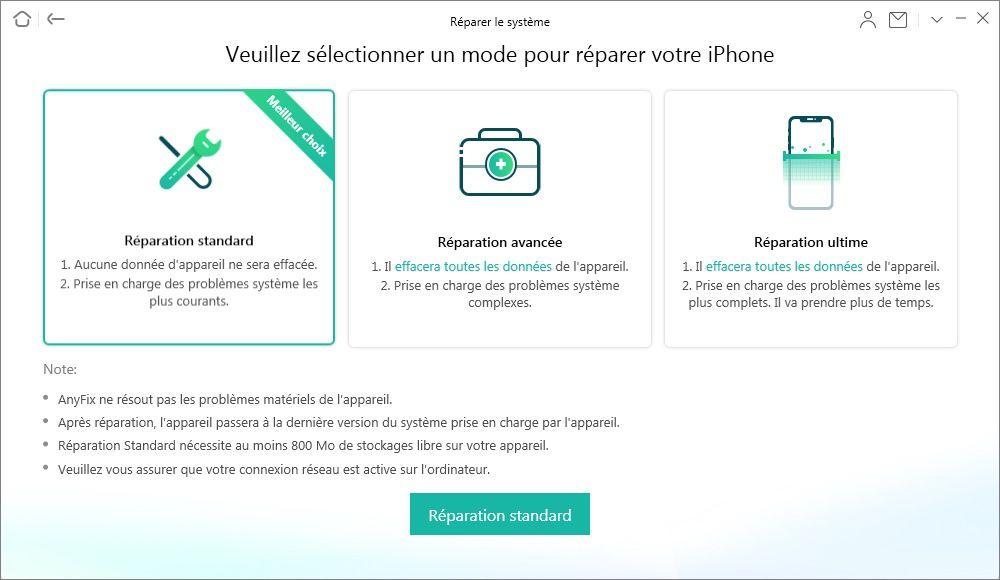 Resoudre Erreurs Iphone Ipad Avec Anyfix