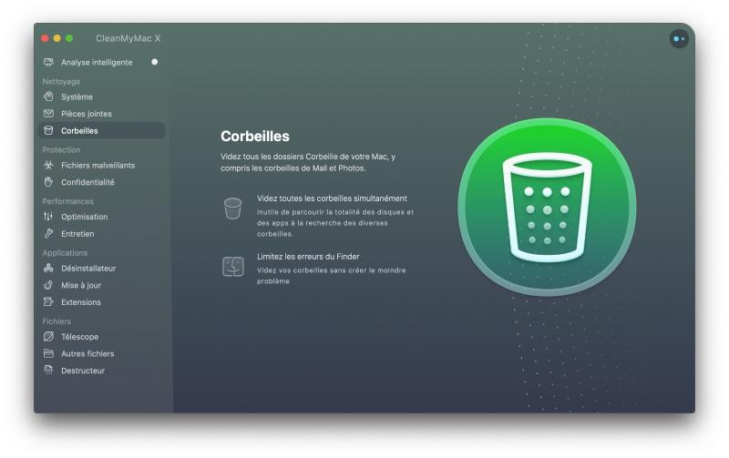 Cleanmymac Vide Les Corbeilles Sur Mac