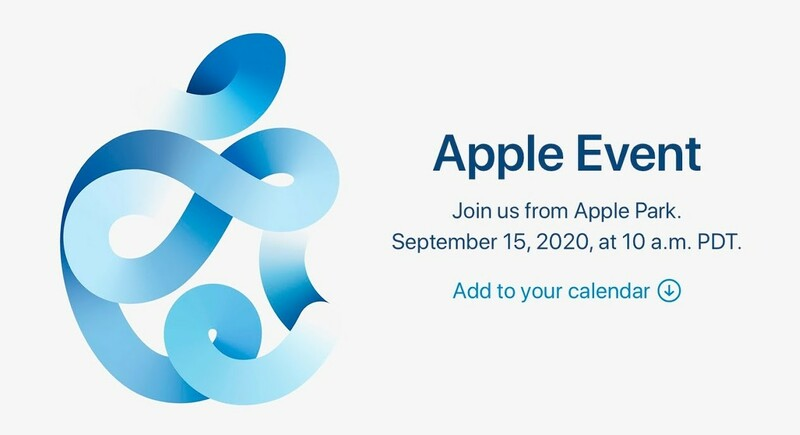 Apple Event Septembre 2020