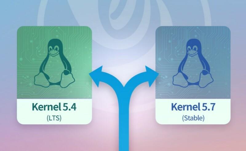 Linux Deepin 20 Dual Kernel
