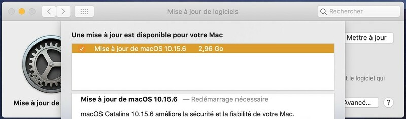 Mise A Jour Supplementaire Macos Catalina 10.15.6 19g2531