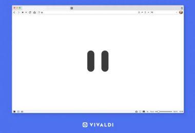 Navigateur Vivaldi Met En Pause Internet