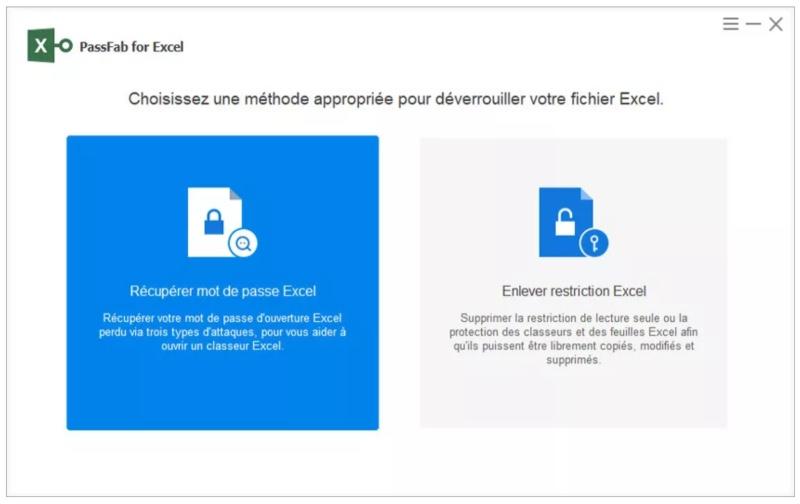 Supprimer Mot De Passe Excel Avec Passfab For Excel