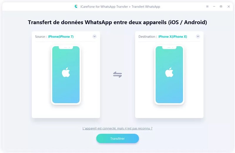 Transfert Whatsapp Iphone Vers Android