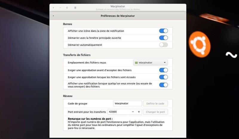 Warpinator Envoyer Recevoir Fichiers Sur Reseau