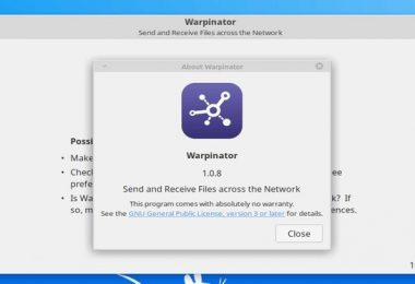 Warpinator Webapp Manager
