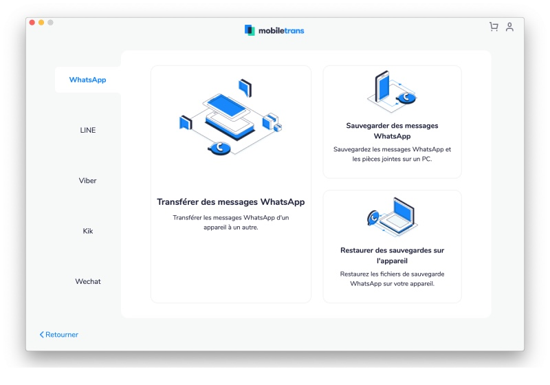 Mobiletrans Whatsapp Transfert