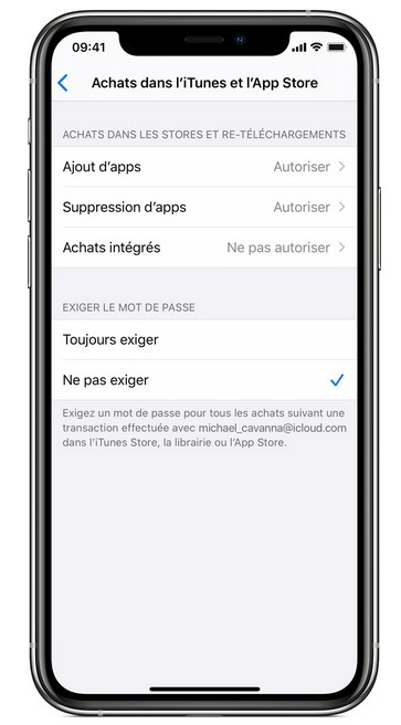 Restrictions Applications Sur Iphone