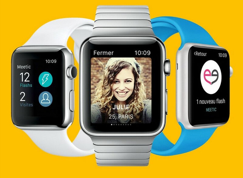 Application Apple Watch Meetic