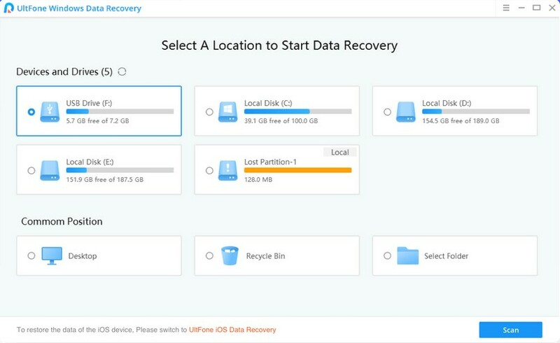 Black Friday Ultfone Windows Data Recovery