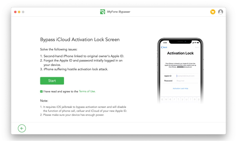 Bypass Icloud Activation Lockscreen Imyfone Ibypasser