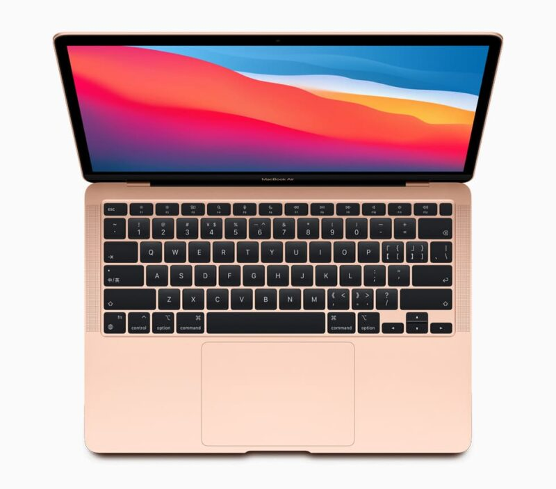 Nouveau Macbook Air M1 Apple Silicon