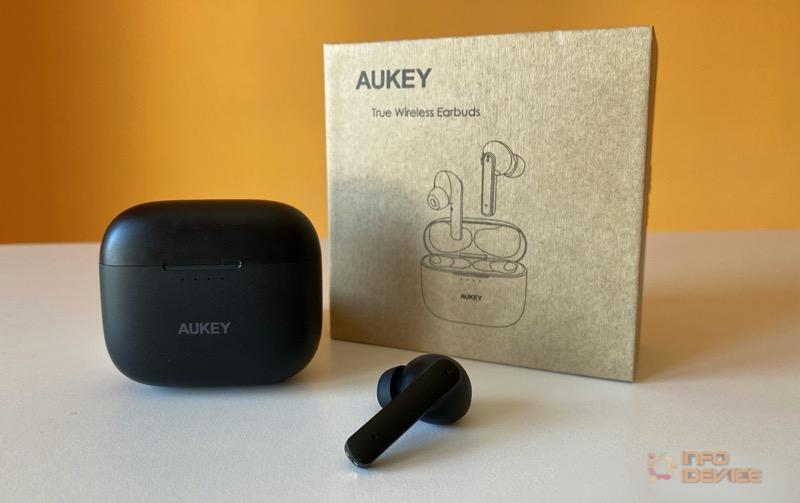 Test Ecouteurs Sans Fil Aukey Ep N5 Reduction Active Du Bruit