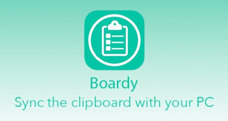 Tweak Boardy Presse Papier Iphone Vers Windows