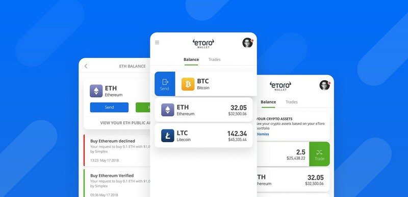 Avis Etoro Crypto Wallet