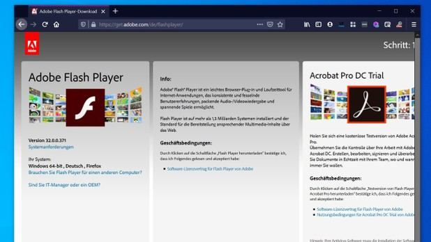 Firefox 84 Derniere Version Compatible Flash