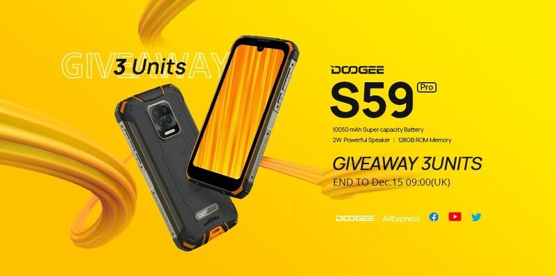 Gagner Un Smartphone Doogee S59 Pro