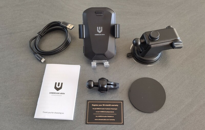 Packaging Support Unbreakcable Chargeur Smartphone Sans Fil
