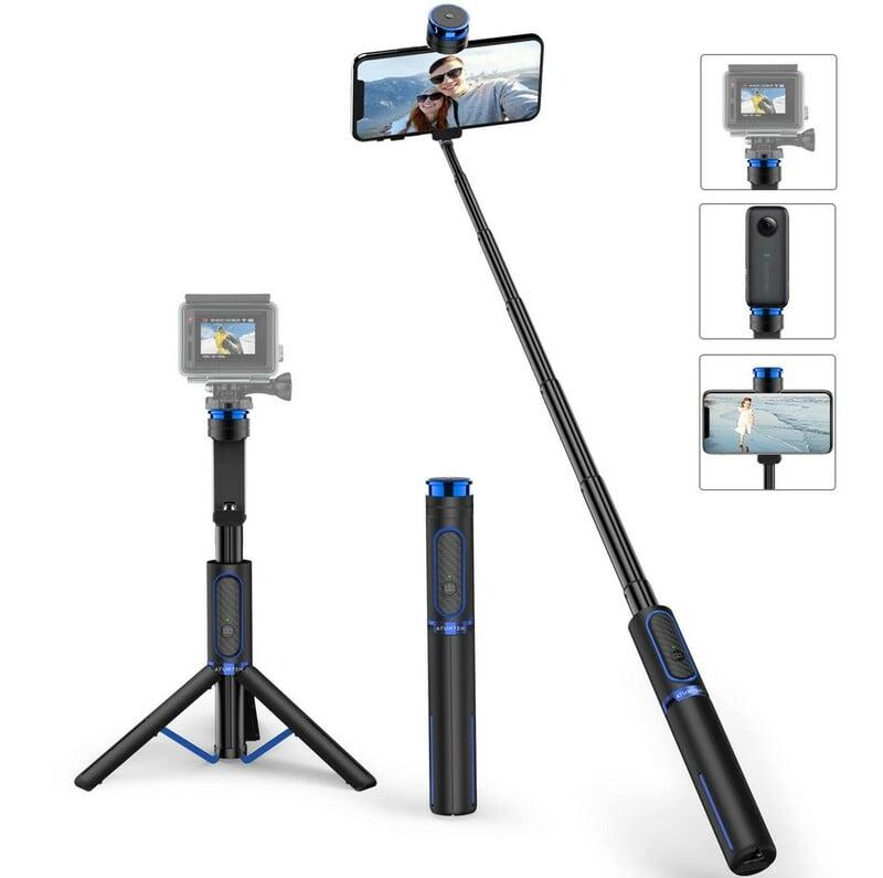 Review Trepied Bluetooth Selfie Atumtek