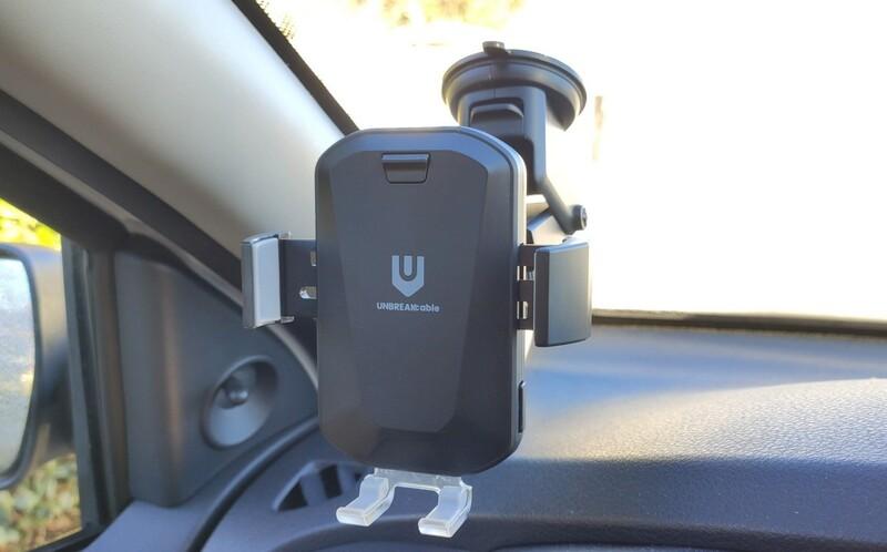 Support Automatique Unbreakcable Chargeur Smartphone Sans Fil