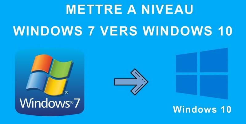 Mise A Niveau Windows 10 Gratuit