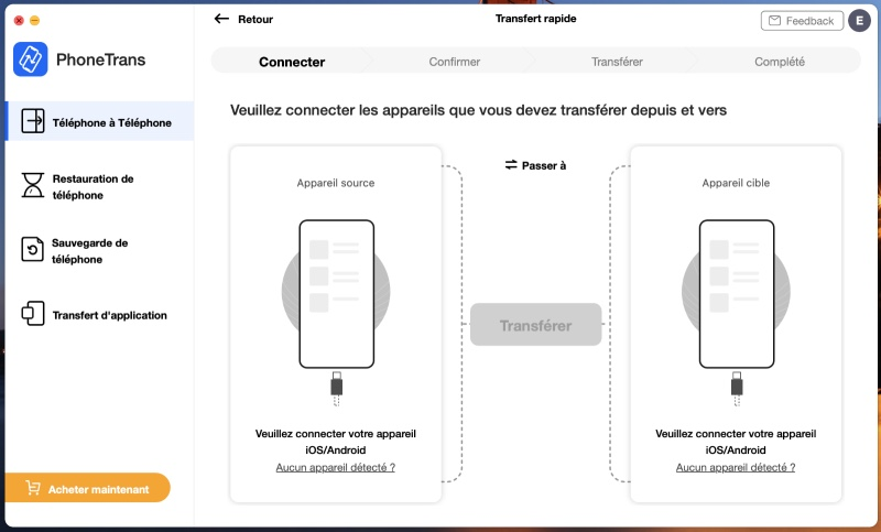 Phonetrans Transfert Android Vers Iphone