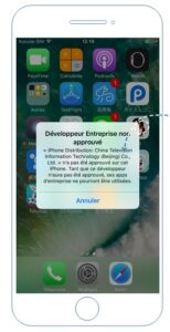 Solution Developpeur Non Approuve Sur Iphone