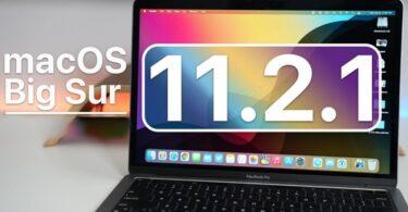 Macos Big Sur 11.2.1