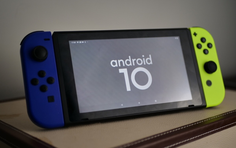 switchroot installe andorid 10 sur nintendo switch