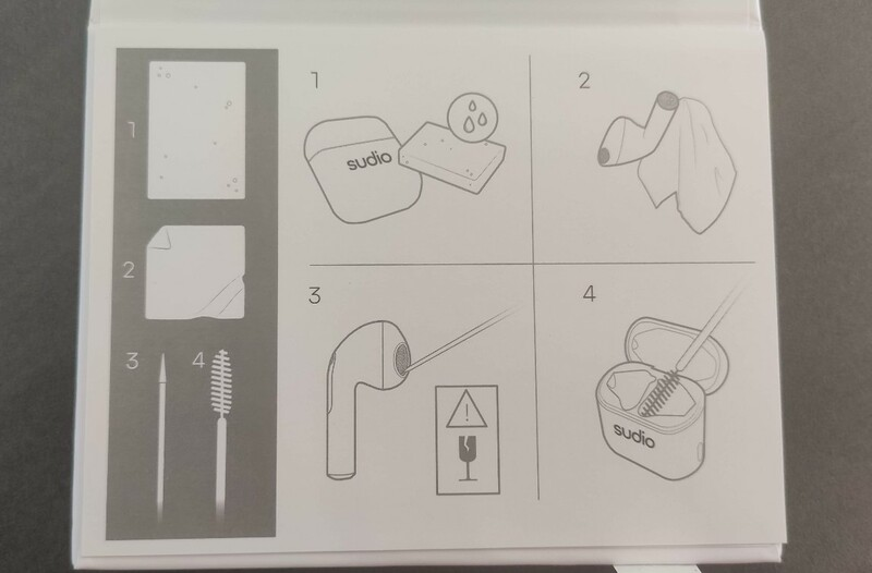 notice kit entretien ecouteurs sudio nio