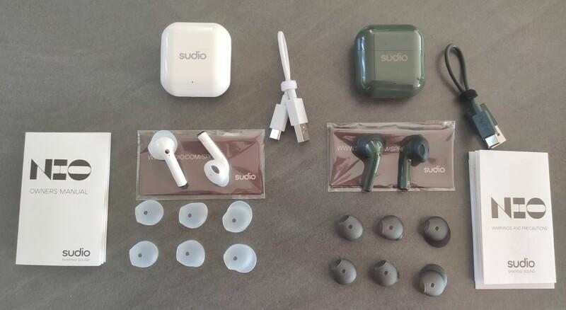 test ecouteurs sans fil sudio nio
