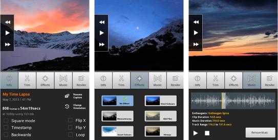 application montage video sur smartphone
