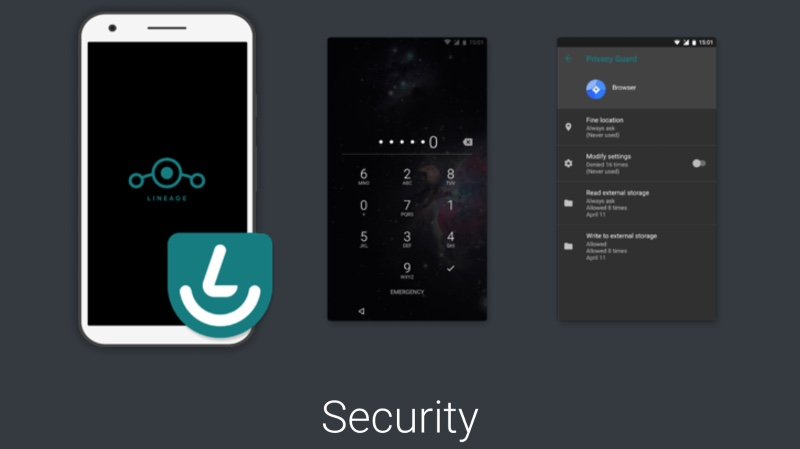 lineageos distribution android securisee