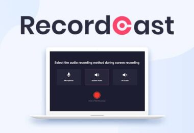 recordcast enregistrer ecran pc