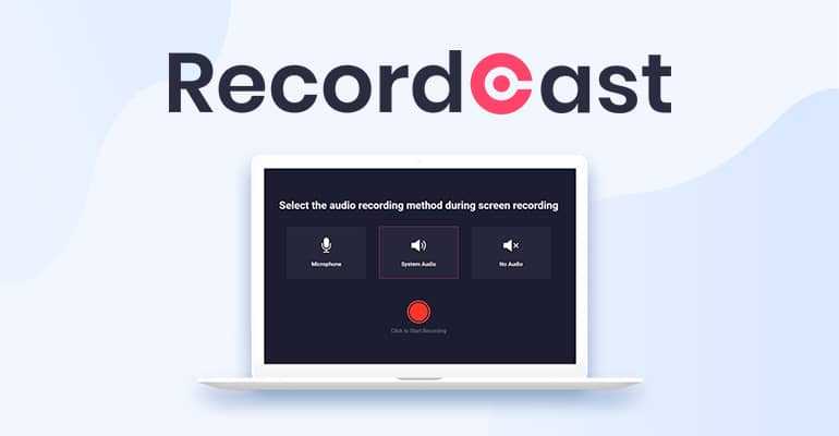 recordcast enregistrer ecran pc
