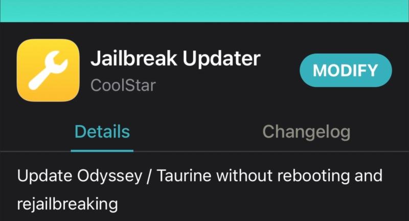 tweak jailbreak updater