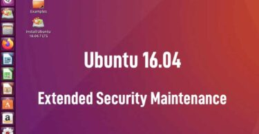 ubuntu 1604 esm