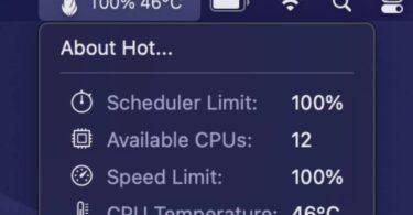 utilitaire hot surveillance temperature cpu mac