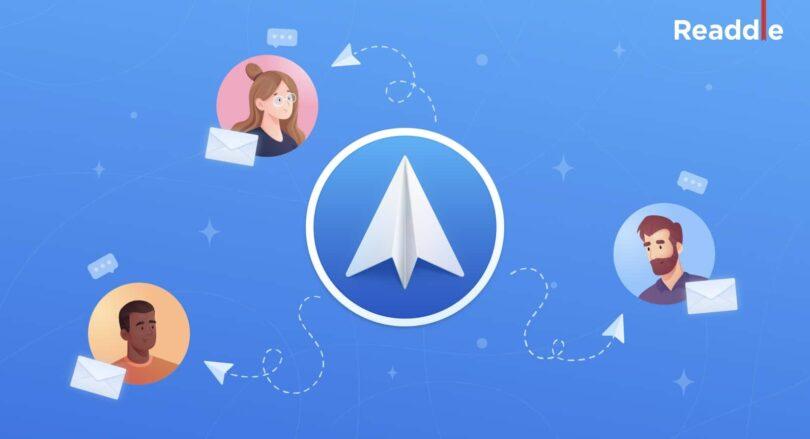 spark mail nouvelle fonction partage boite de reception