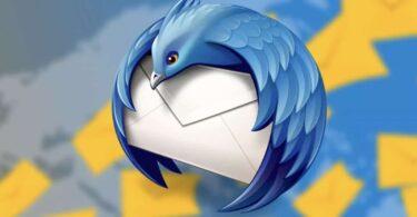 client de messagerie thunderbird 91