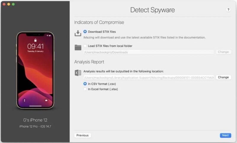 comment detecter le logiciel espion pegasus sur iphone