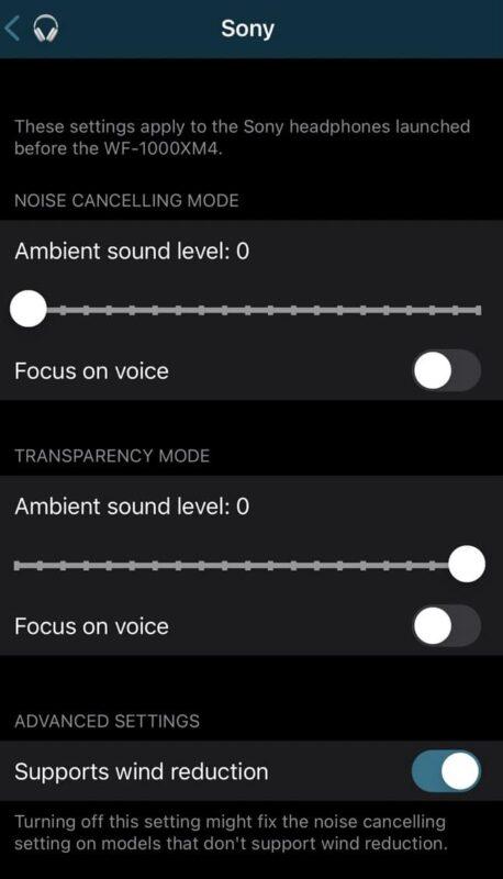 parametres tweak sonitus iphone