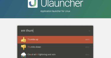 ulauncher lanceur applications sous linux